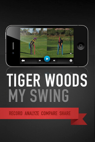 Tiger Woods develops an instructional swing app