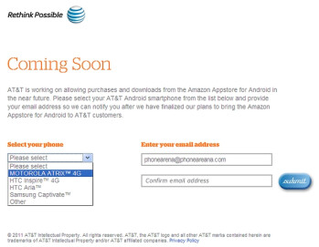 Amazon Appstore may soon be available to AT&T users as well