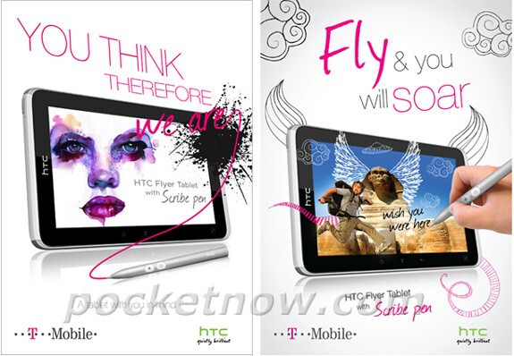 HTC's Scribe pen could be the difference between the Flyer and other tablets on T-Mobile's roster - HTC Flyer heading to T-Mobile USA?