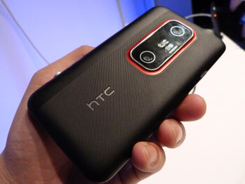 The HTC EVO 3D for Sprint