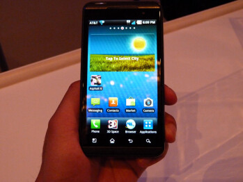 The LG Thrill 4G for AT&T