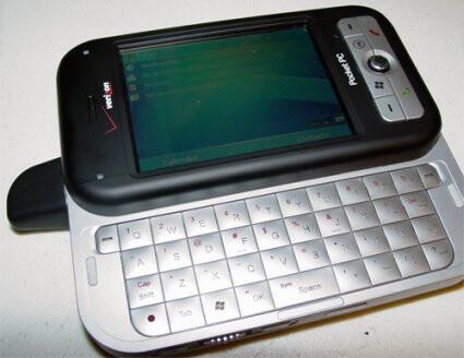 Verizon Wireless launches UTStarcom XV6700 Pocket PC phone