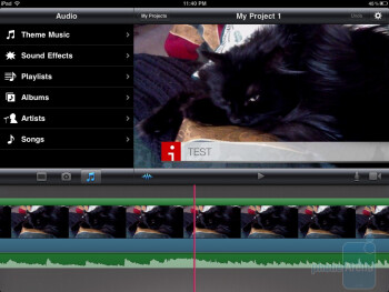 After everything is complete, you can export the video directly to the photo roll or share it with many services