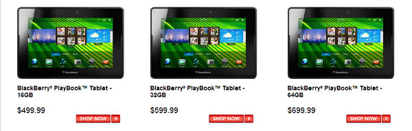 Pre-order your BlackBerry PlayBook now at Sears Canada