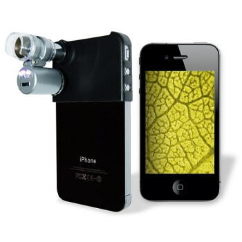 Gadget turns your iPhone into an amateur microscope with 60x zoom