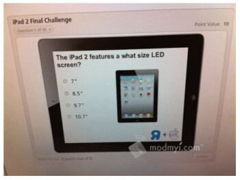 "Training materials hint to the possibility that Toys ""R"" Us might be selling the iPad 2"