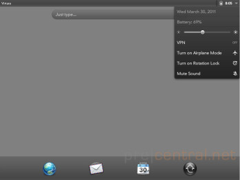 A peek into the HP TouchPad: webOS 3.0 screenshots