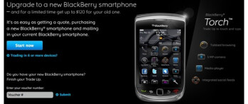 RIM finally gives the green light to its BlackBerry Trade-up program in Canada