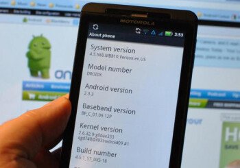 Verizon appears to be silently rolling out the Android 2.3.3 upgrade for the Motorola DROID X