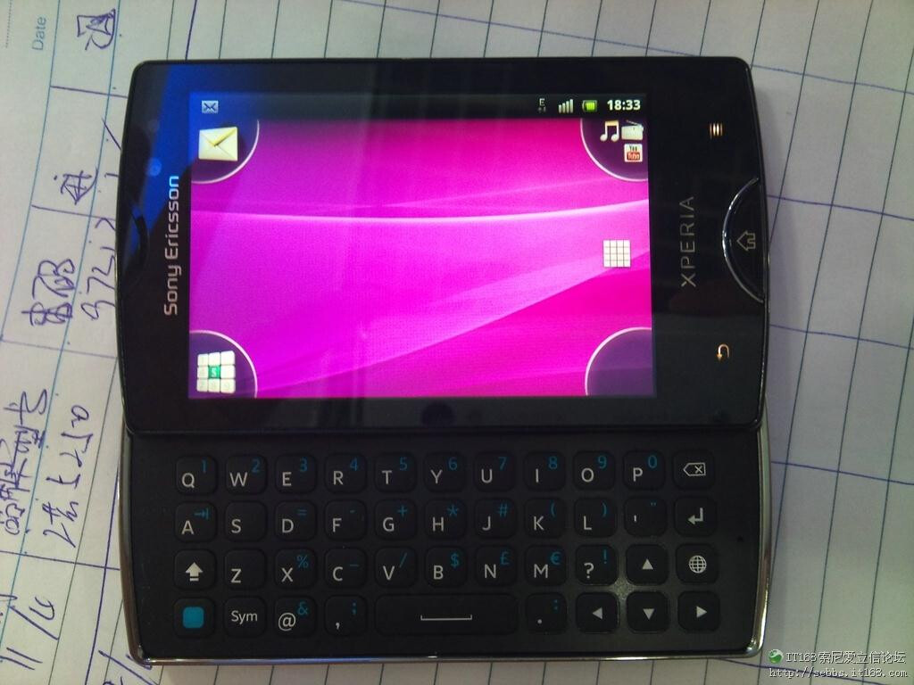 Sony Ericsson Xperia Mini Pro 2 leaks out again: 1GHz CPU ...