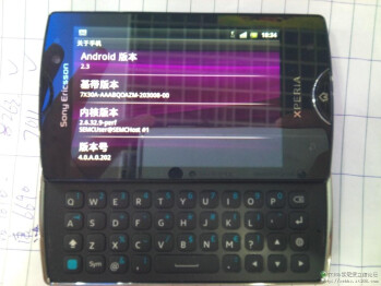 Sony Ericsson Xperia Mini Pro 2 leaks out again: 1GHz CPU, 5MP camera
