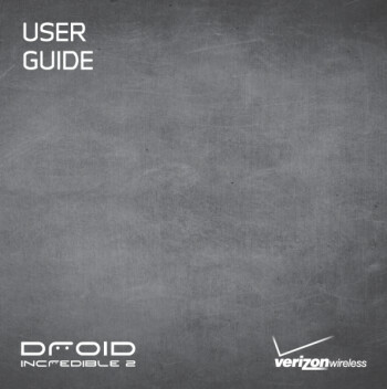 User Guide leaks for Verizon's HTC Droid Incredible 2
