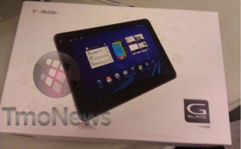 Launching as soon as April 20th, the T-Mobile G-Slate is being shipped to the carrier's stores now