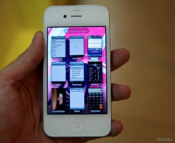 Allegedly real white iPhone running a modified iOS version leaks in Vietnam
