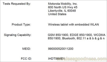 Is the Motorola XOOM headed to AT&T?