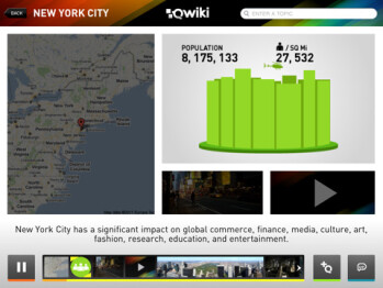 Qwiki for iPad brings the visual learner's dream to your tablet