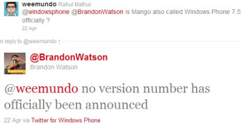 Microsoft says Mango to be released as Windows Phone 7.5, subsequently denies it