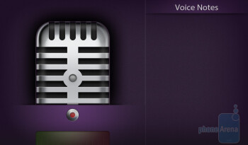 The Voice Notes app