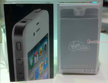 Shipment of the iPhone 4 in white arrives at Virgin Mobile Canada