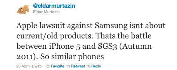 Apple-Samsung lawsuit a battle over Samsung Galaxy S3 and the iPhone 5, both slated for fall release