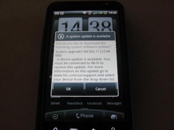 Both the Motorola ATRIX 4G and the HTC Inspire 4G  (pictured above) will soon receive an upgrade from AT&T that will  turn on each handsets' HSUPA radio