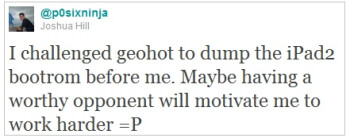 GeoHot accepts an iPad 2 hacking challenge; jailbreak should be coming soon