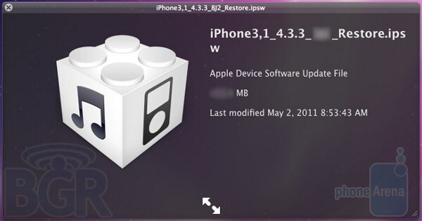 Expected to be released within the next 2 weeks, iOS 4.3.3 should remove the bugs that allowed Apple to store location database files on iTunes - Apple to shortly release iOS 4.3.3; update deals with location tracking bug