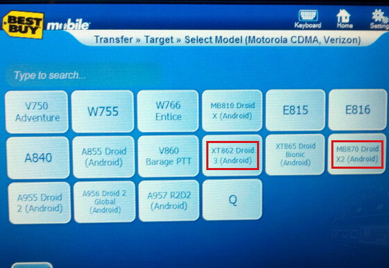 Motorola DROID X2 & DROID 3 appear in Best Buy's system