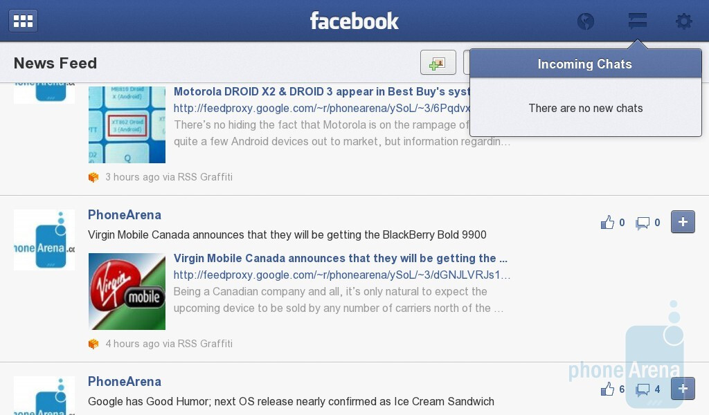 facebook chat applications for mobile phones