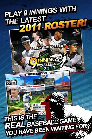 For the first time, you can control real MLB players on your phone  - Manage your favorite MLB  players on your Android phone with 9 innings: Pro Baseball 2011