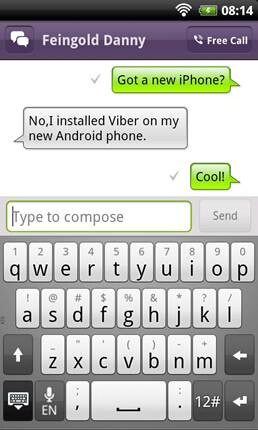 Viber for Android beta now available; free VoIP calling and texting made easy