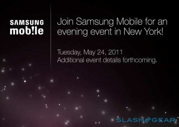 Second Samsung NYC event is planned for May 24th - possibly related to the Galaxy Tab