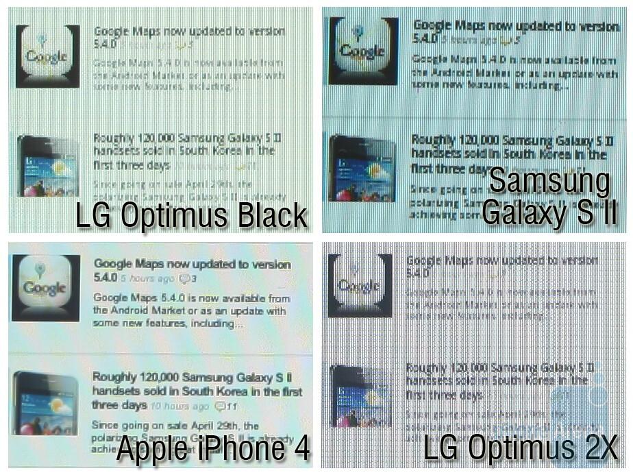 100% Crops - NOVA Display vs Super AMOLED Plus vs Retina Display vs IPS LCD
