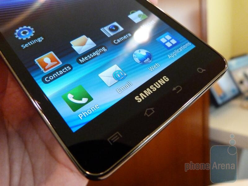 Samsung Infuse 4G Hands-on