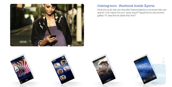 SonyEricsson is adding Facebook functions to certain Xperia models - Coming to certain Sony Ericsson Xperia models: Facebook inside Xperia