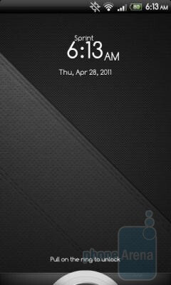 The music app controls and the alarm snooze/dismiss button will both work when you install the HTC Sense 3.0 lockscreen on the HTC EVO 4G