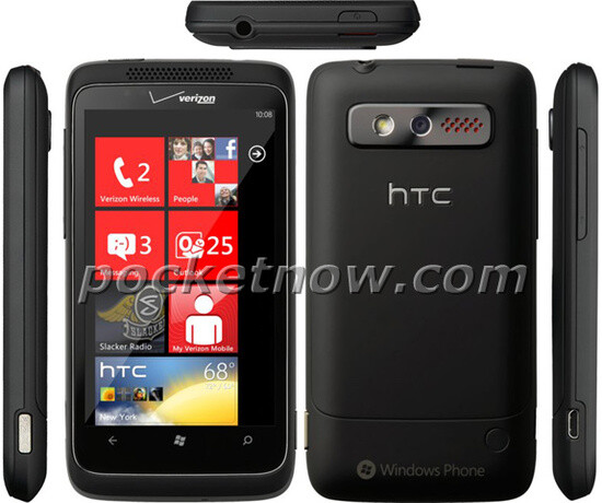 Leaked press shots of Verizon's HTC Trophy indicate an ...