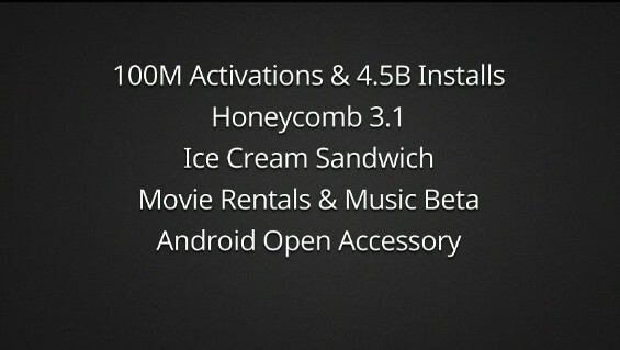 Google announces Android Ice Cream Sandwich and Honeycomb 3.1, promises timely updates