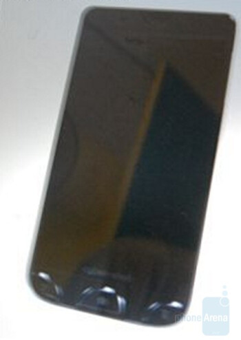 Murky images of a touchscreen Sony Ericsson Cyber-shot phone leak, possibly Android