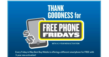 Best Buy Canada is offering 6 Android models for free on Friday, with a signed 3 year contract; one of the models is the dual-core powered Motorola ATRIX 4G