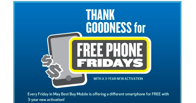 Best Buy Canada is offering 6 Android models for free on Friday, with a signed 3 year contract; one of the models is the dual-core powered Motorola ATRIX 4G - Best Buy Canada's Free Phones Friday: Motorola ATRIX 4G, Nexus S, HTC Desire HD and more