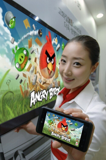 Angry Birds to be preloaded on LG Optimus smartphones