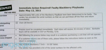 RIM recalls 935 BlackBerry PlayBooks for undisclosed reasons