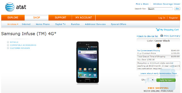 The Mutt and Jeff pair of smartphones, the Samsung Infuse 4G and the HP Veer 4G now available at AT&T