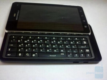 The Motorola DROID 3 will offer a landscape sliding QWERTY keyboard with 5 rows of keys