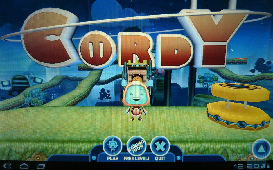 """Gaming on Honeycomb""""  - Honeycomb – the tablet-optimized OS"""