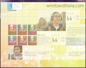Windows 8 Moorea app reveals a sliver of its tablet-friendly interface