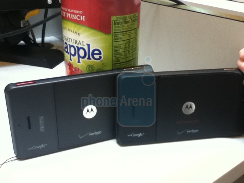 Motorola DROID X2 dummy units show that the handset is now lacking a camera key
