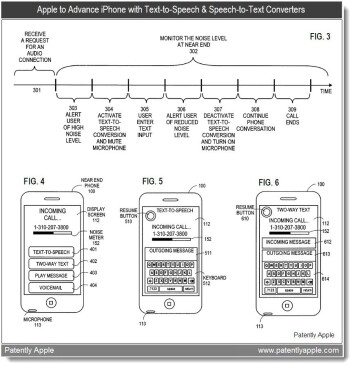 New Apple patent shows speech-to-text and text-to-speech