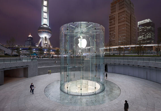 Apple Store in Shanghai - A decade of Apple Stores and the case for brand identity